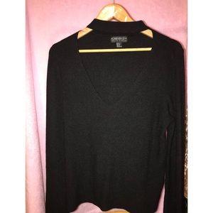 Forever 21 choker blouse